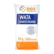 DOZ PRODUCT Wata bawełniana 100%, 50 g