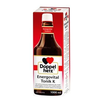 Doppelherz Energovital Tonik K, płyn doustny, 1000 ml