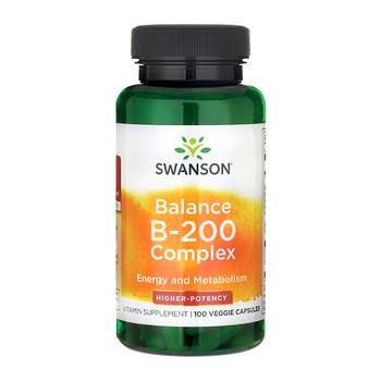 Swanson Balance B-200, kapsułki, 100 szt.