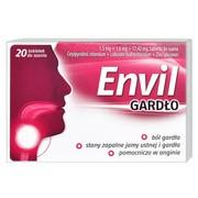 Envil gardło, tabletki do ssania, 20 szt.