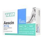 Aescin, 20 mg, tabletki powlekane, 90 szt.