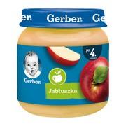Gerber, jabłuszka, 4 m+, 125 g