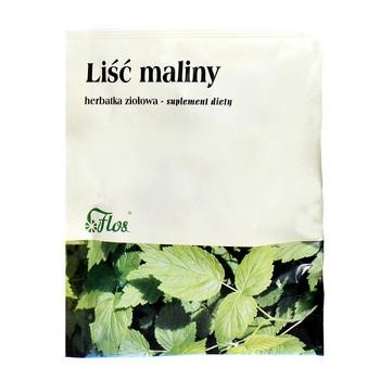 Liść maliny, herbatka ziołowa, 50 g (Flos)