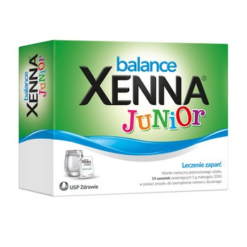 Xenna Balance Junior, proszek w saszetkach, do sporządzania roztworu doustnego, 14 x 5 g