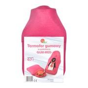 Termofor Gum-Med, gumowy w pokrowcu, 0,7 l, 1 szt.