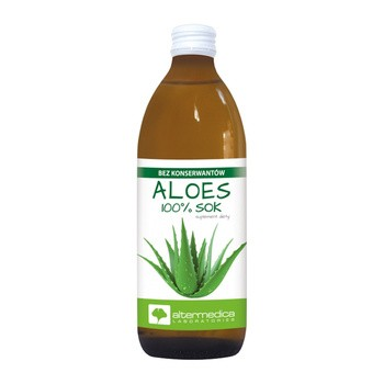 Aloes, sok z aloesu, 1000 ml (Alter Medica)