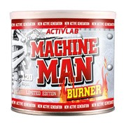 Machine man burner, kapsułki, 120 szt.