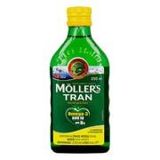 Mollers Tran Norweski, aromat cytrynowy, 250 ml