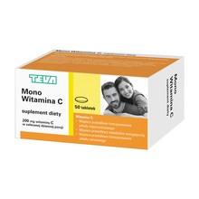 Mono Witamina C, tabletki, 50 szt.