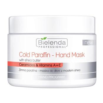 Bielenda Professional, zimna parafina - maska do dłoni z masłem shea, 150 g