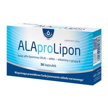 ALAproLipon, kapsułki, 36 szt.