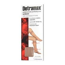 Detramax, podkolanówki uciskowe, beż, rozmiar 3-4