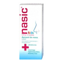 Nasic Kids, (0,05mg+5mg)/dawkę, aerozol do nosa, roztwór, 10 ml