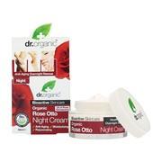Dr. Organic Rose Otto, krem na noc z olejkiem różanym, 50 ml