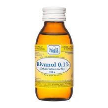 Rivanol (Rivanolum), roztwór 0.1%, 100 g