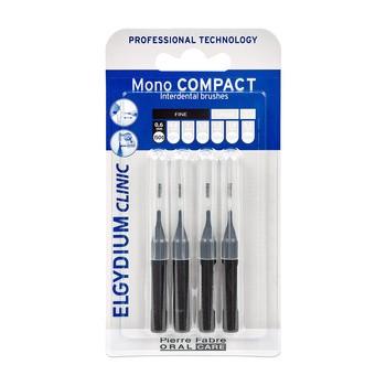 Elgydium Clinic Mono Compact 0, szczoteczka międzyzębowa, 4 szt.