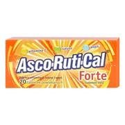 AscoRutiCal Forte, tabletki powlekane, 20 szt.