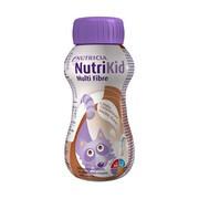 NutriKid Multi Fibre, smak czekoladowy, płyn, 200 ml