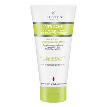 Floslek Pharma Anti Acne, żel do mycia twarzy, 200 ml