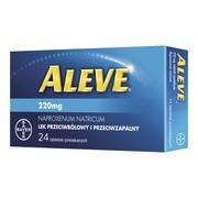 Aleve, 220 mg, tabletki powlekane, 24 szt.