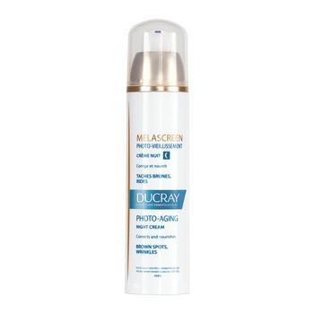 Ducray Melascreen Photo-aging, fotostarzenie krem na noc, 50 ml