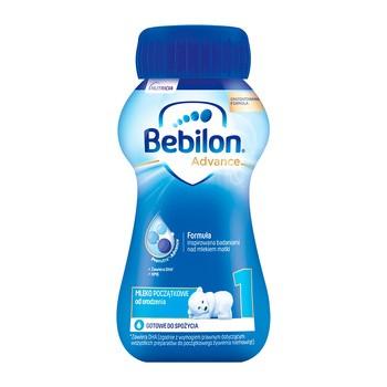Bebilon 1 z Pronutra Advance, płyn, 200 ml