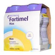 Fortimel Max, płyn wysokoenergetyczny o smak waniliowym, 4 x 300 ml