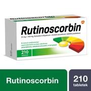 Rutinoscorbin, tabletki powlekane, 210 szt.