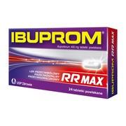 Ibuprom RR Max, 400 mg, tabletki powlekane, 24 szt. (2 x 12 szt.)