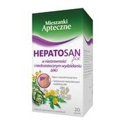 Hepatosan fix, zioła do zaparzania, 2 g, 20 saszetek