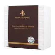Kropla Zdrowia Eco Argan Body Butter, masło do ciała z olejkiem arganowym, 200 ml