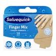 Salvequick Finger Mix, plastry na palce rąk, 18 szt.