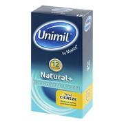 Unimil Natural, prezerwatywy lateksowe, 12 szt.