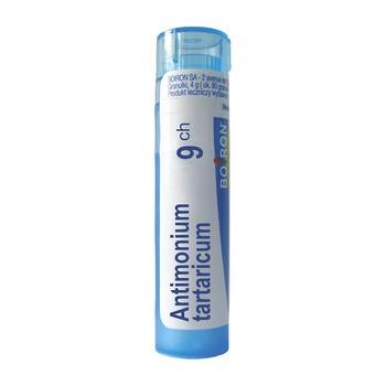 Boiron Antimonium tartaricum, 9CH, granulki, 4 g
