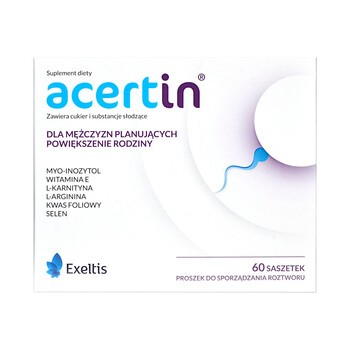 Acertin, proszek do sporządzania roztworu w saszetkach, 60 szt.