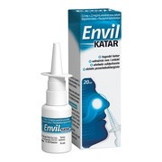 Envil katar, 1,5 mg+2,5 mg/ml, aerozol do nosa, 20 ml