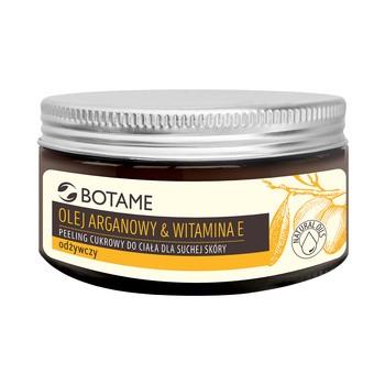Botame Body, odżywczy cukrowy peeling do ciała z olejem arganowym, 300 ml