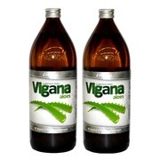 Vigana Aloes, sok z aloesu, 1000 ml x 2 opakowania