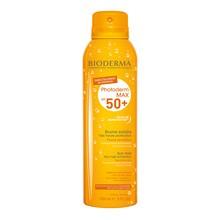 Bioderma Photoderm MAX Brume solaire, Active Spray, ochronna mgiełka do ciała i twarzy dla całej rodziny, SPF 50+, 150 ml