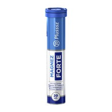 Plusssz Magnez Forte, tabletki musujące, 20 szt