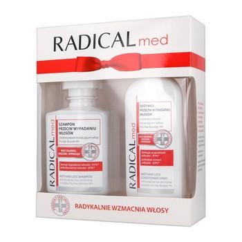 Zestaw Promocyjny Farmona Radical Med, szampon, 300 ml + odżywka w sprayu, 200 ml