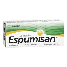 Espumisan, 40 mg, kapsułki, 25 szt.