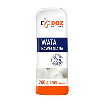 DOZ PRODUCT Wata bawełniana 100%, 200 g