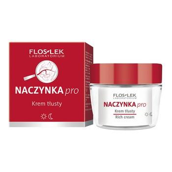 FlosLek Laboratorium Naczynka Pro, krem tłusty, 50 ml