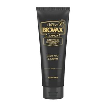 Biovax Glamour Caviar, Złote Algi & Kawior, szampon intensywnie regenerujący, 200 ml