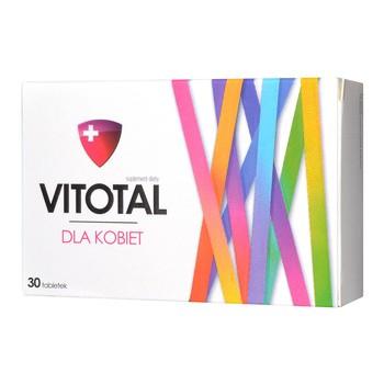 Vitotal dla Kobiet, tabletki, 30 szt.