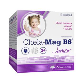 Olimp Chela-Mag B6 Junior, proszek w saszetkach, 15 szt.