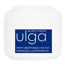 Ziaja Ulga dla skóry wrażliwej, krem ujędrniający na noc, redukujący podrażnienia, 50 ml