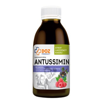 DOZ PRODUCT Antussimin, syrop, 120 ml