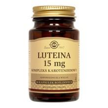 Solgar Luteina Kompleks Karotenoidowy, kapsułki, 30 szt.